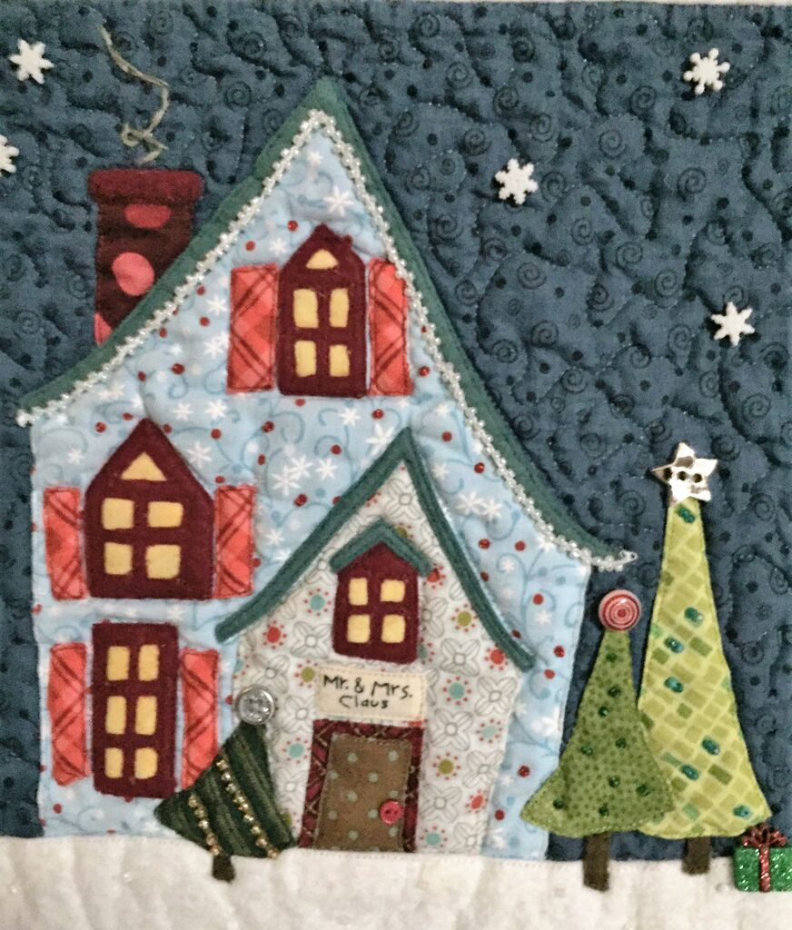 welcome to the north pole applique