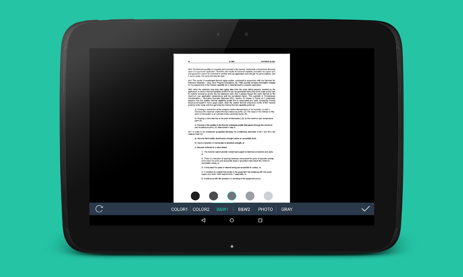 application to scann photo and send fax android