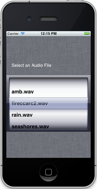 iphone application with core data
