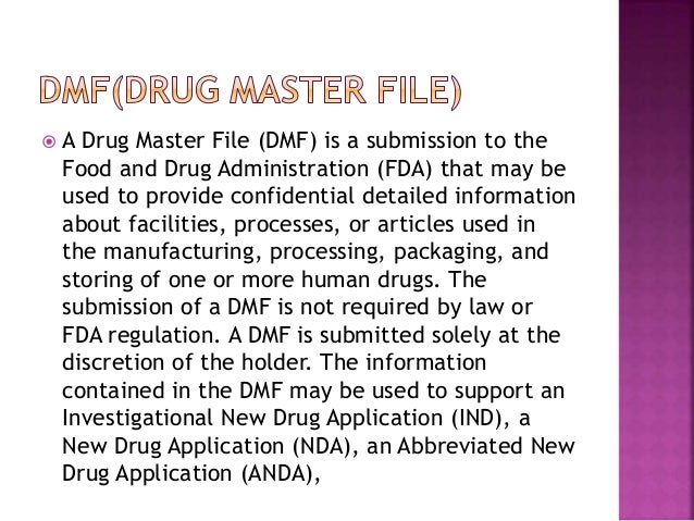 abbreviated new drug application submission