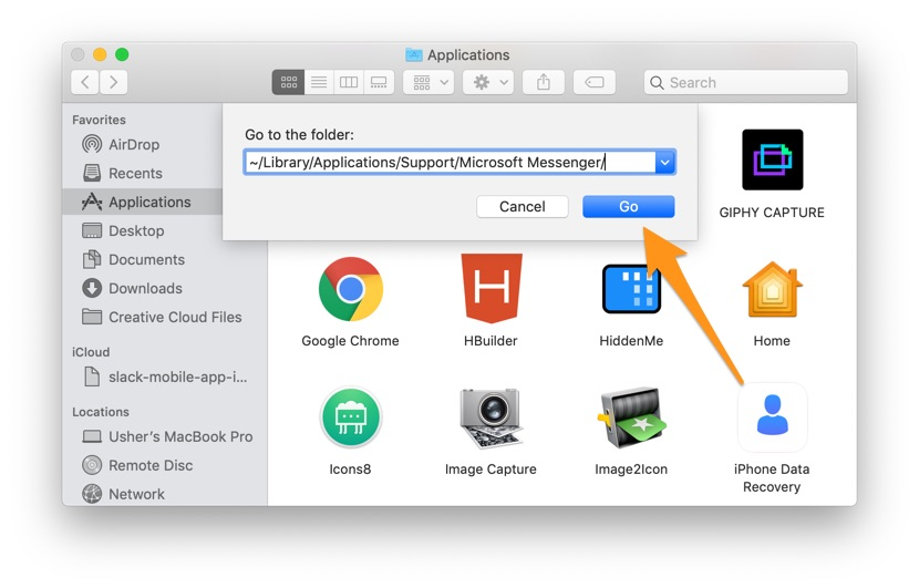 how to clean up mac application cache