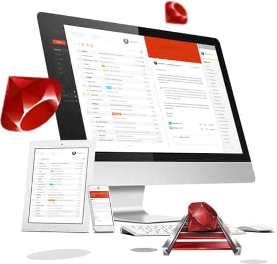 templates web application ruby on rails