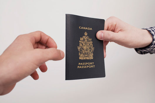 canadian visa application within canada
