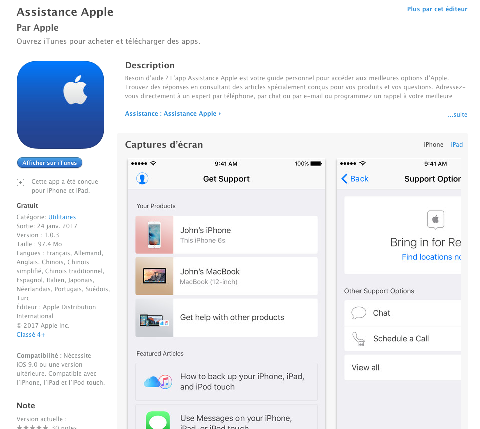 fees for applications on apple store