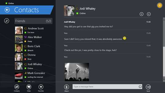messenger application for pc free download