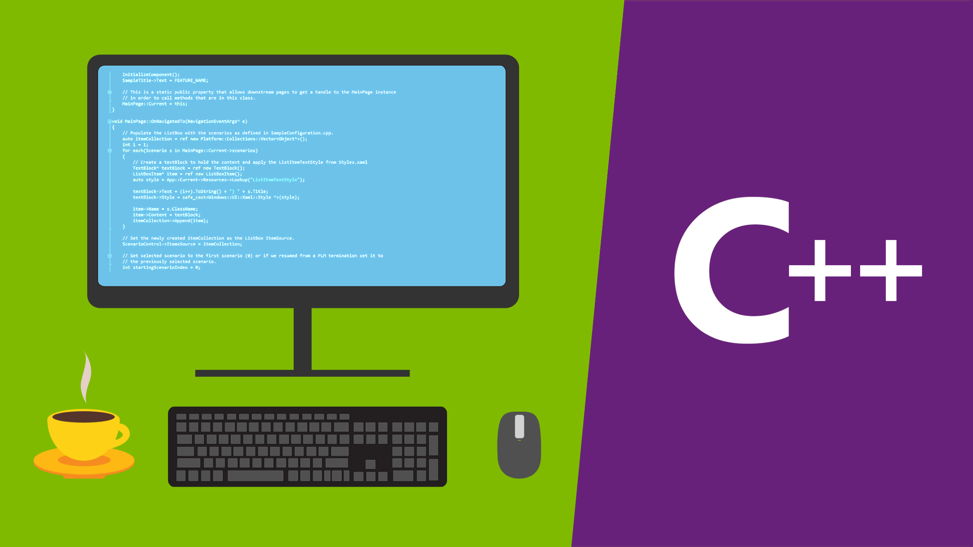 c++ web calls from console application