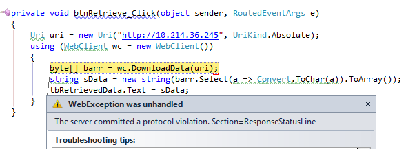 system windows forms application productversion wpf