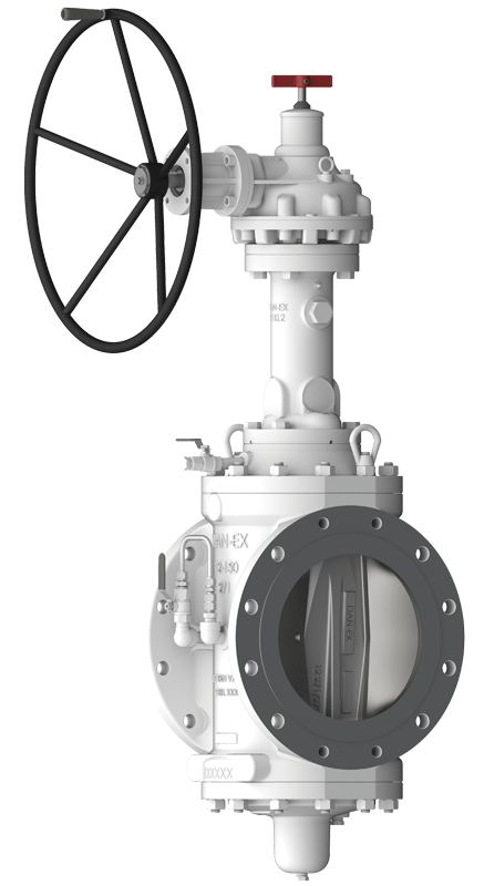 double block and bleed valve for propane application