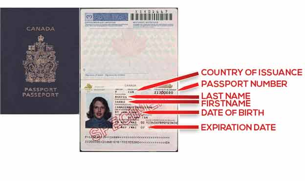 date of travel canadian passport application