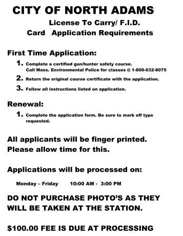 application for renewal of a firearms licence canada