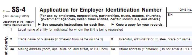 foreign tax identifying number usa application