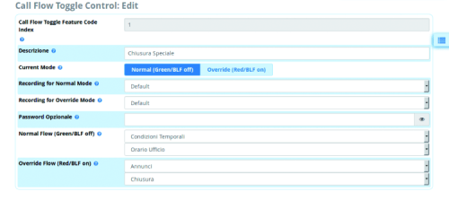 how to disable applications freepbx