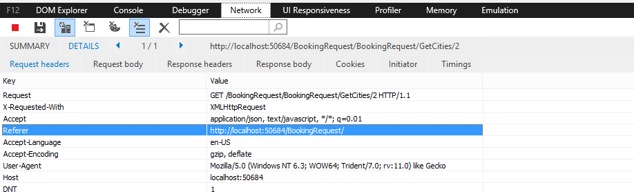 how to run a http application in visual studio