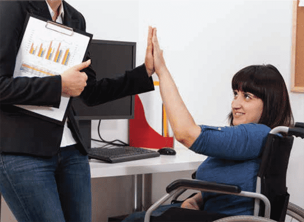 job application person with disabilities