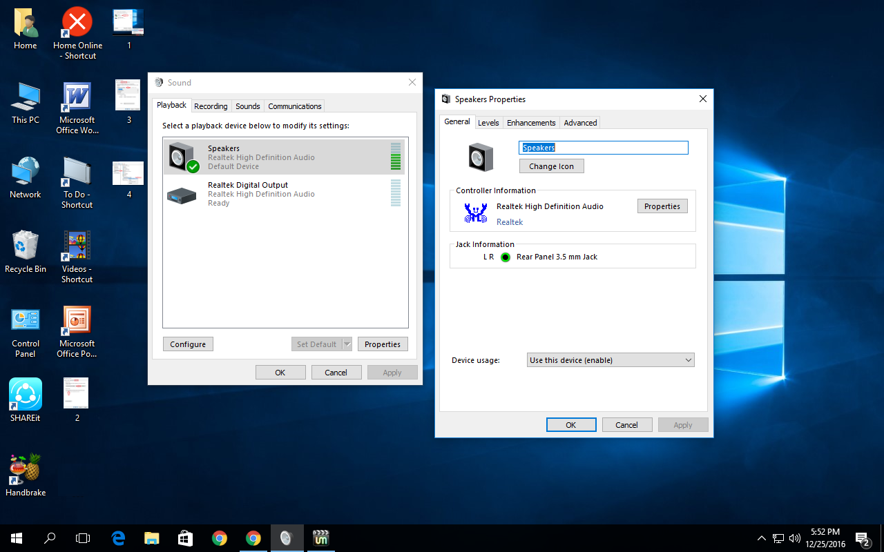microphone not being passed to applications windows 10