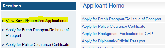 response to notice of application bc
