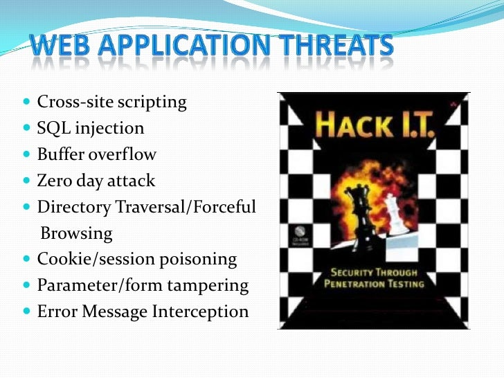session hijacking in web application